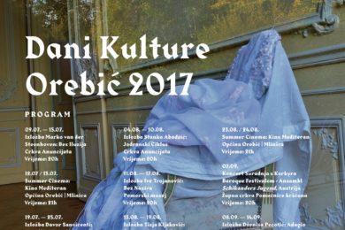Slikovni rezultat za Dani kulture Orebić 2017